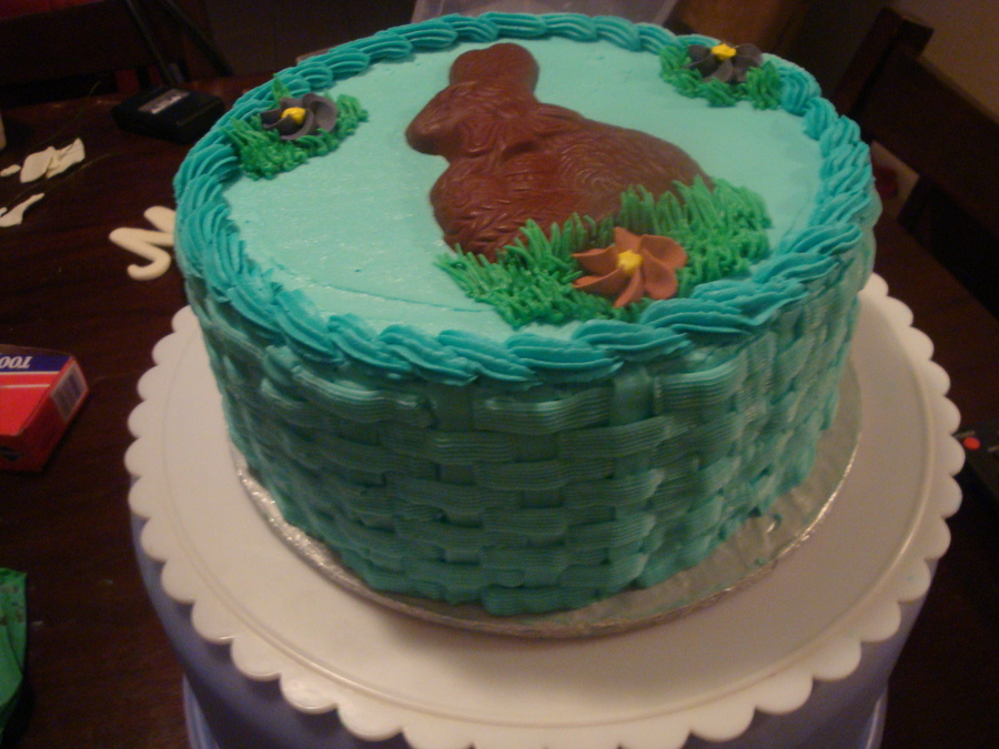 Easter Backet Cake on Cake Central