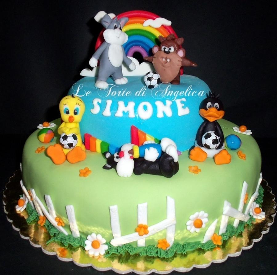 baby looney tunes cakecentralcom
