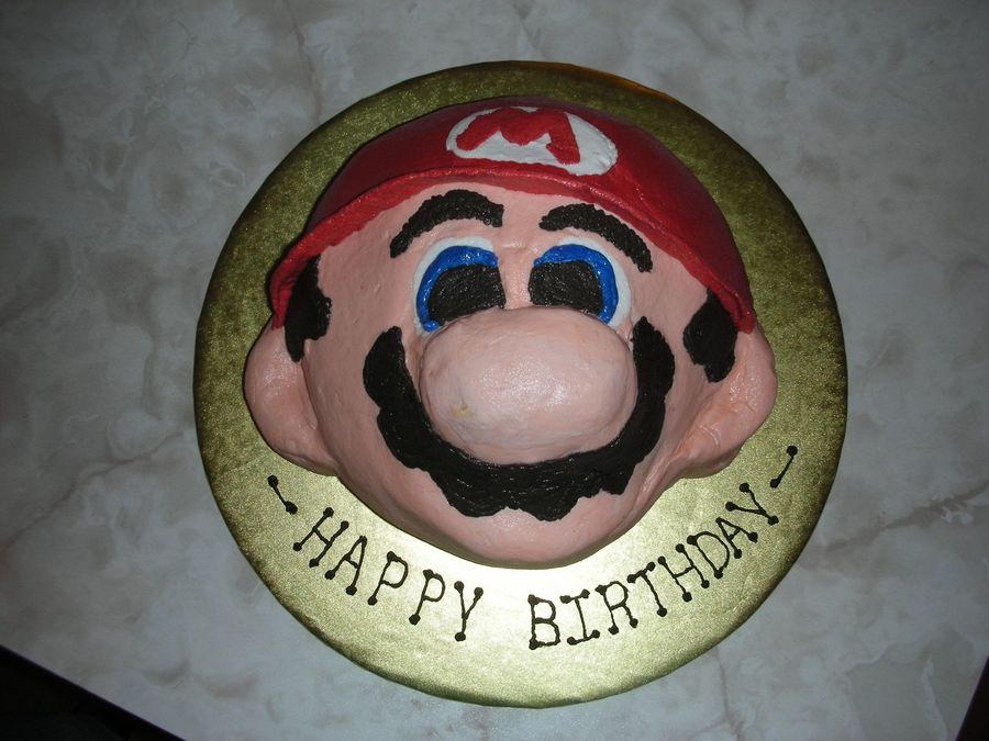 Mario Birthday Cake on Cake Central