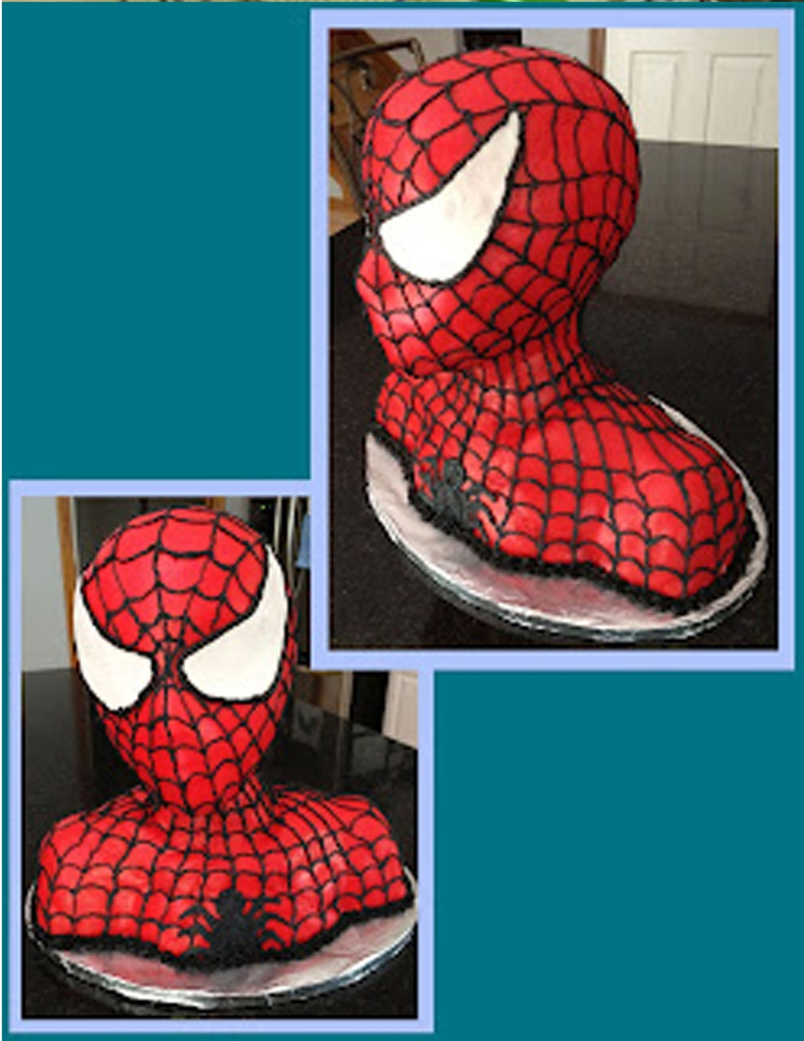 Braxie's Spiderman on Cake Central