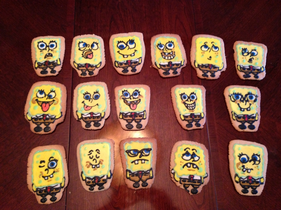 Spongebob Personalities  on Cake Central