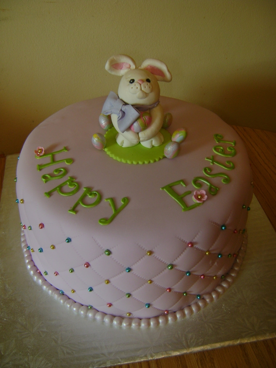 Happy Easter Cake on Cake Central