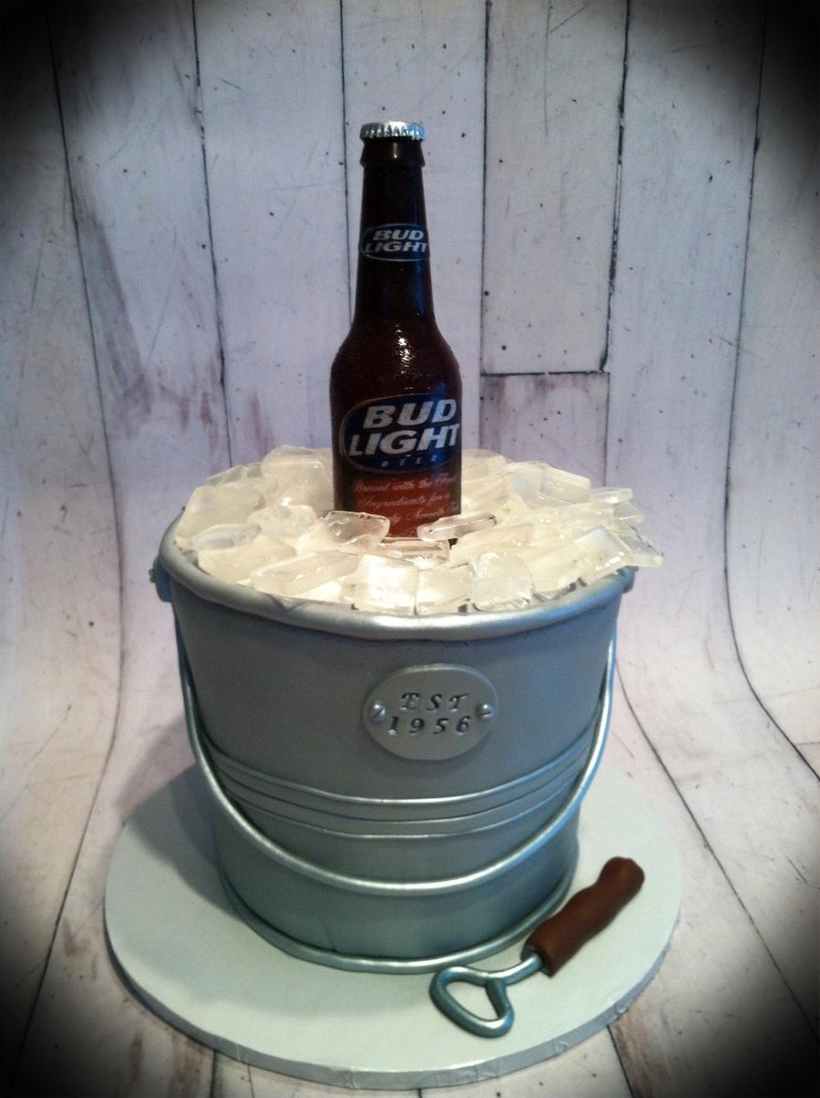 Beer In Ice Bucket Cakecentral Com