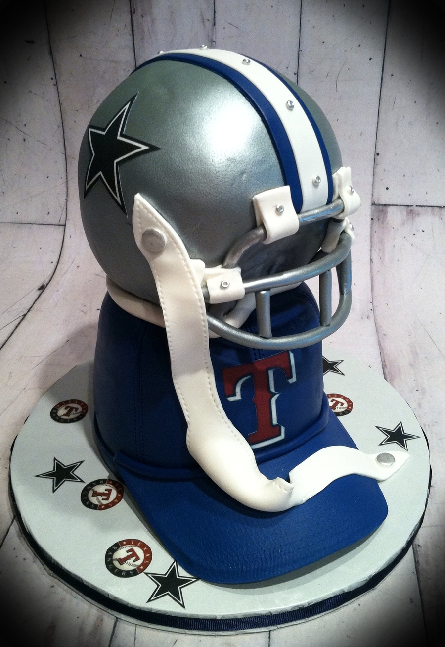 Dallas Cowboys And Texas Rangers on Cake Central