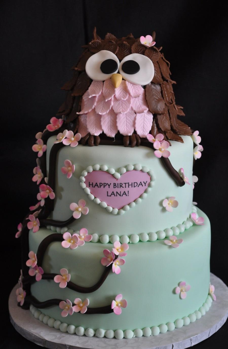 Owl Cakecentral Com
