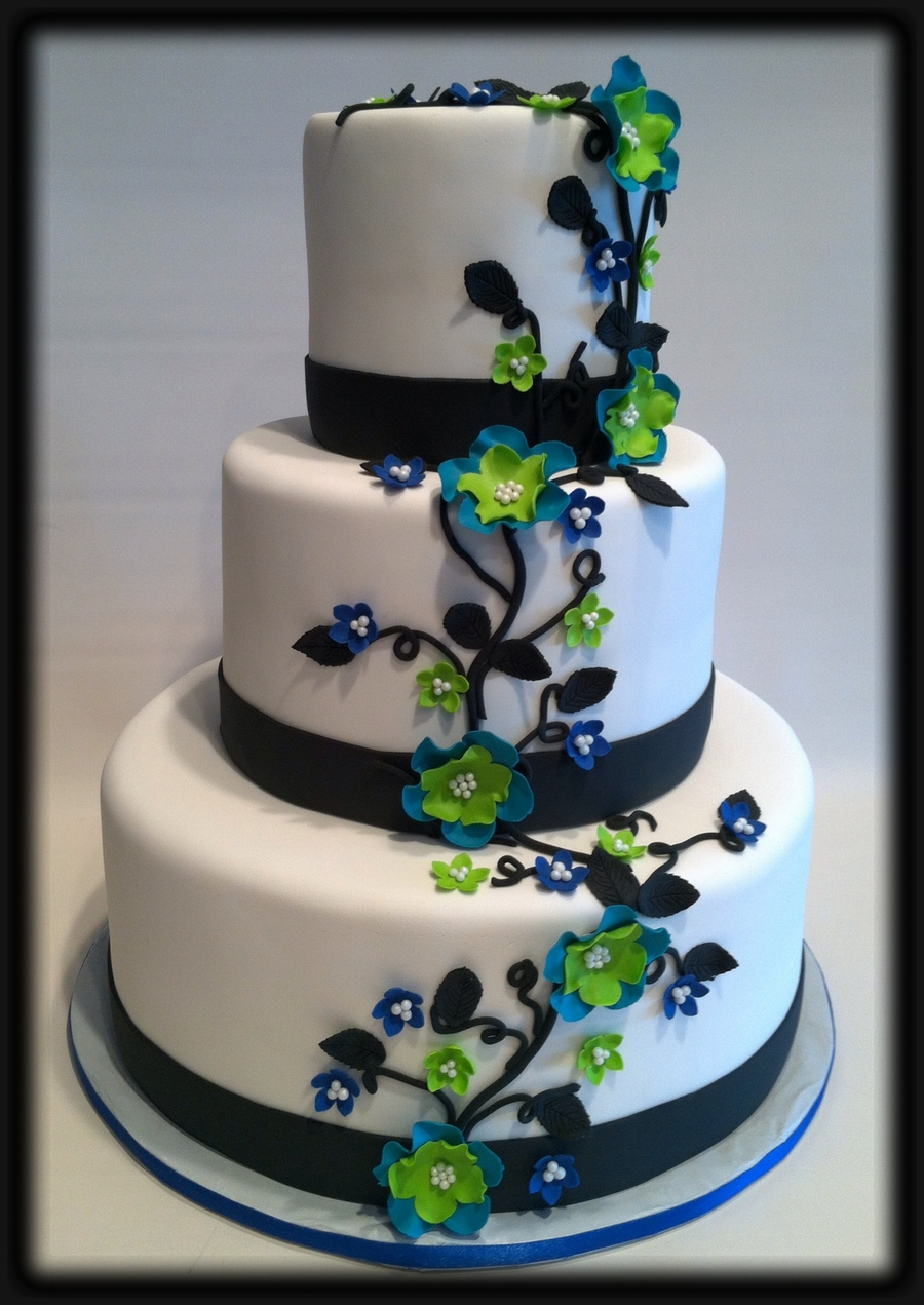 vine wedding cake trailing vine wedding cake cakecentral 21596