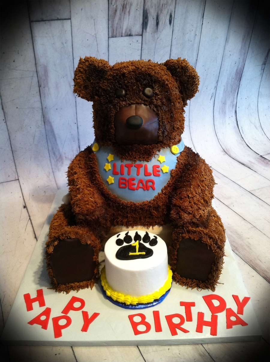 Fuzzy Bear on Cake Central