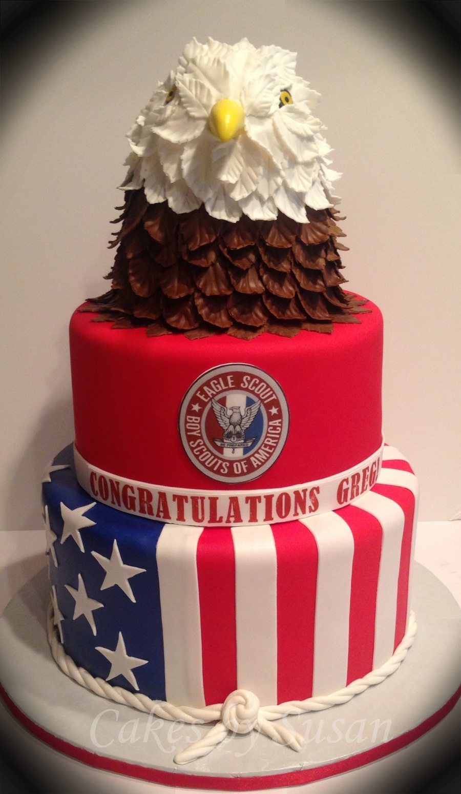 Eagle Scout Cake on Cake Central