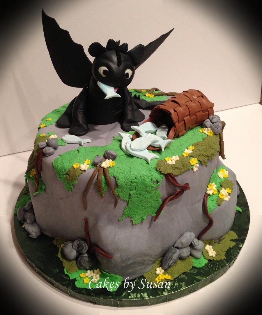 Prime Toothless The Dragon Birthday Cake Cakecentral Com Funny Birthday Cards Online Alyptdamsfinfo