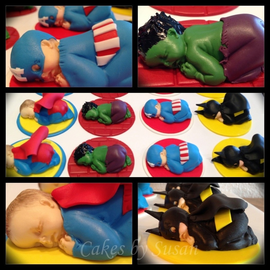 Avenger Babies Cupcake Toppers on Cake Central