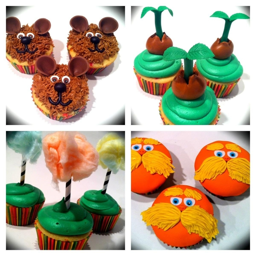 Lorax Cupcakes on Cake Central