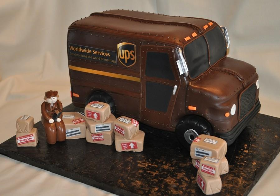 Ups Truck Cakecentral Com