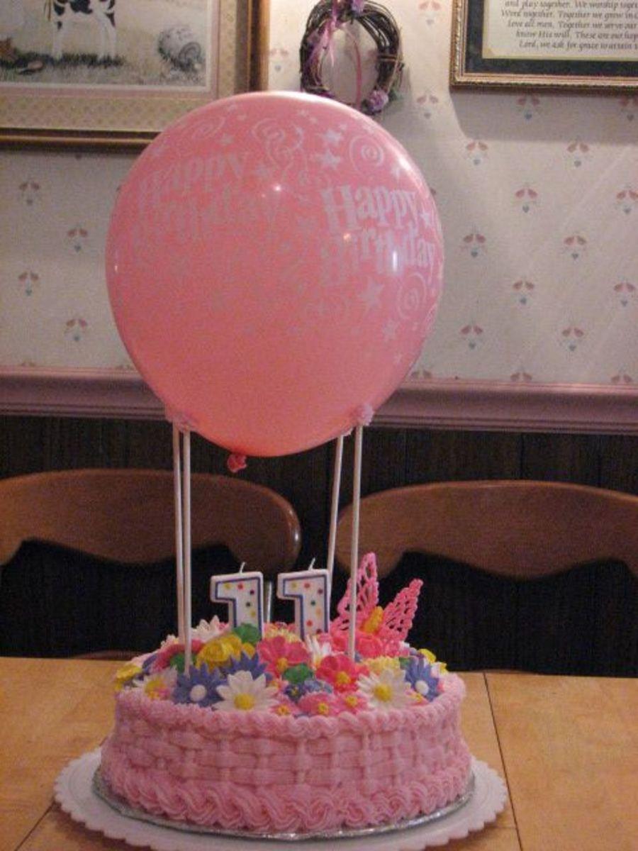 Awe Inspiring My 11 Year Old Daughters Birthday Cake Cakecentral Com Funny Birthday Cards Online Elaedamsfinfo