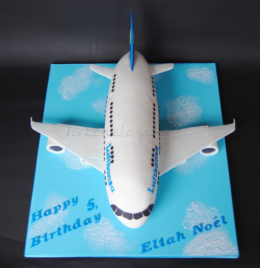Airplane A380 Cake Cakecentral Com
