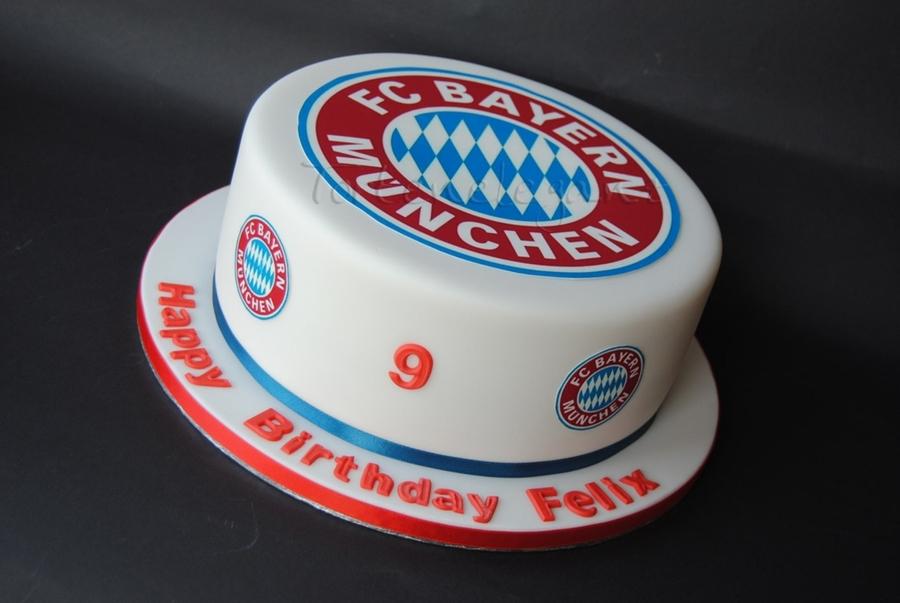 Fc Bayern Munich Cake Cakecentral Com