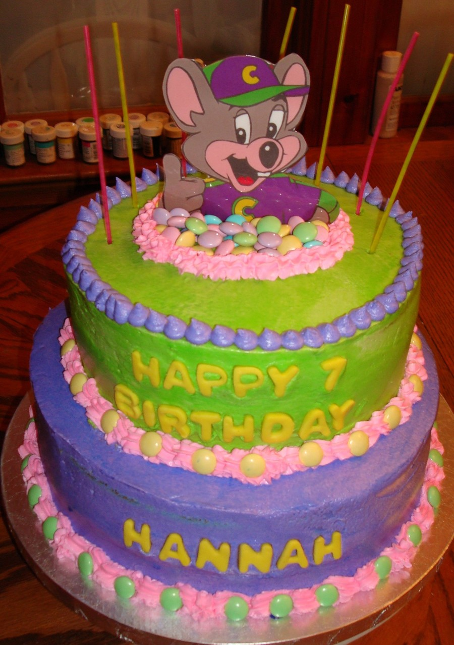 Hannah's 7Th Birthday on Cake Central