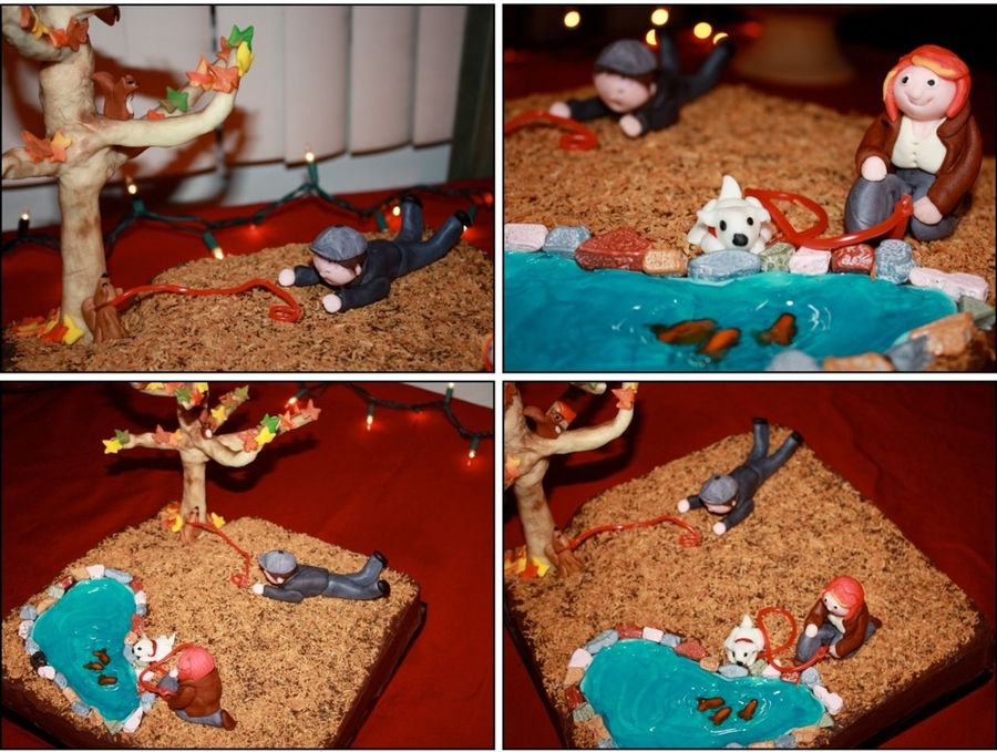 Friends, Dogs . . . Squirrel on Cake Central