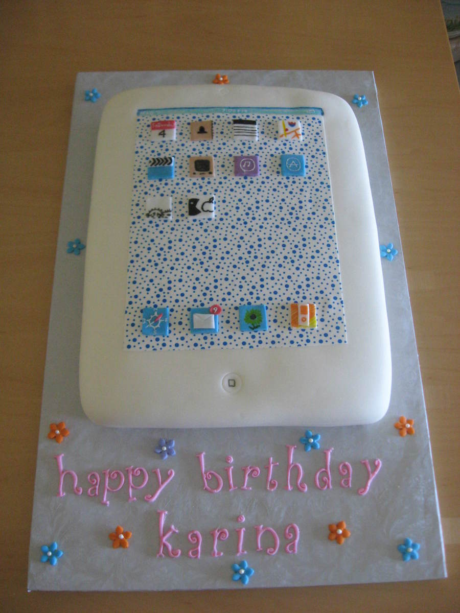 Ipad2  on Cake Central
