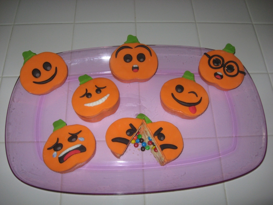 Filled Pumpkin Cookies on Cake Central
