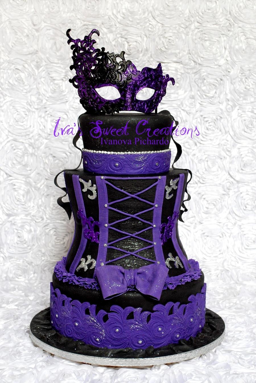 Masquerade Cake Cakecentral