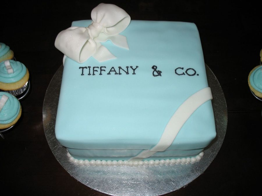 tiffany co bridal shower cake on cake central