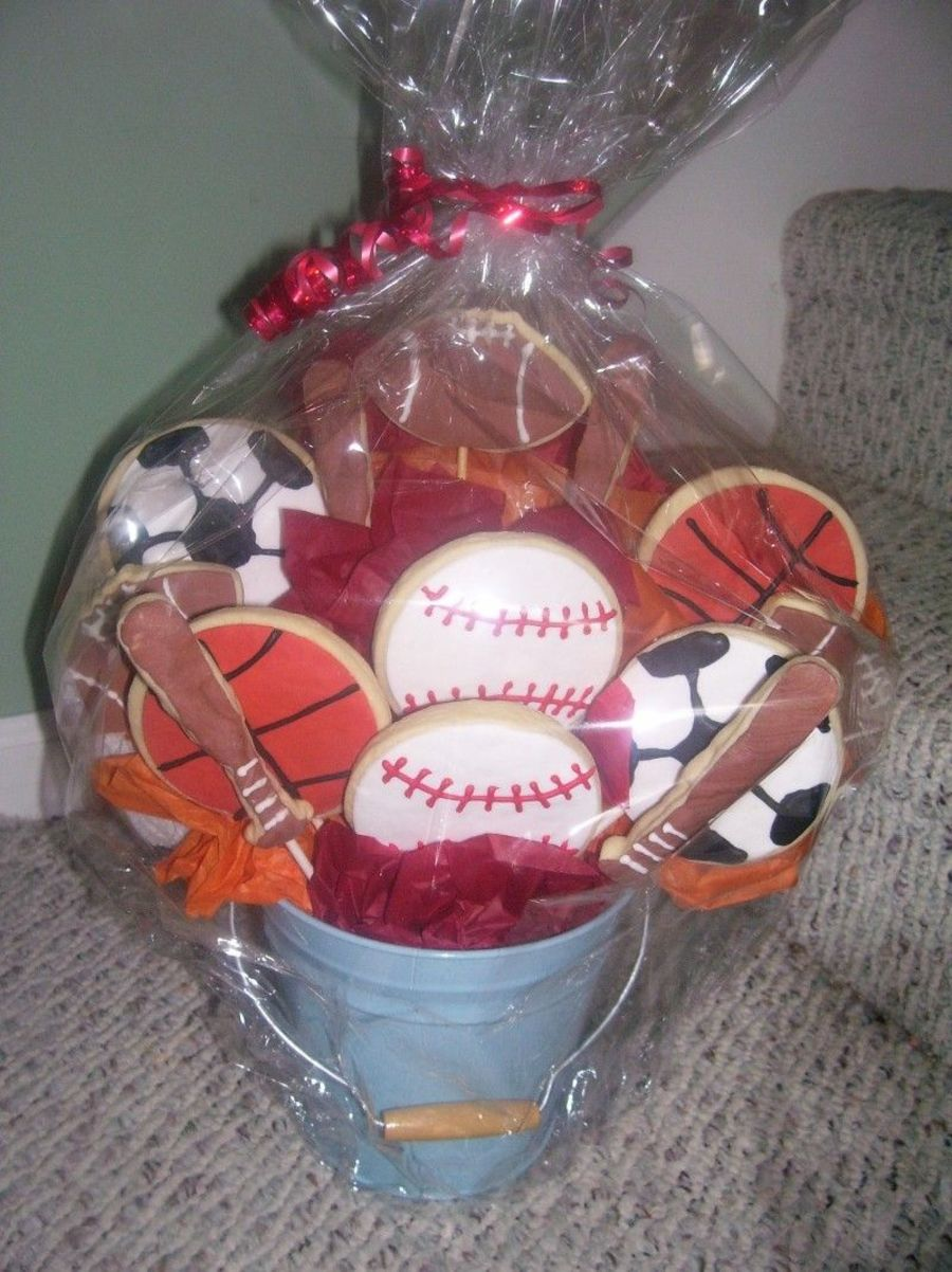 Sports Bouquet on Cake Central