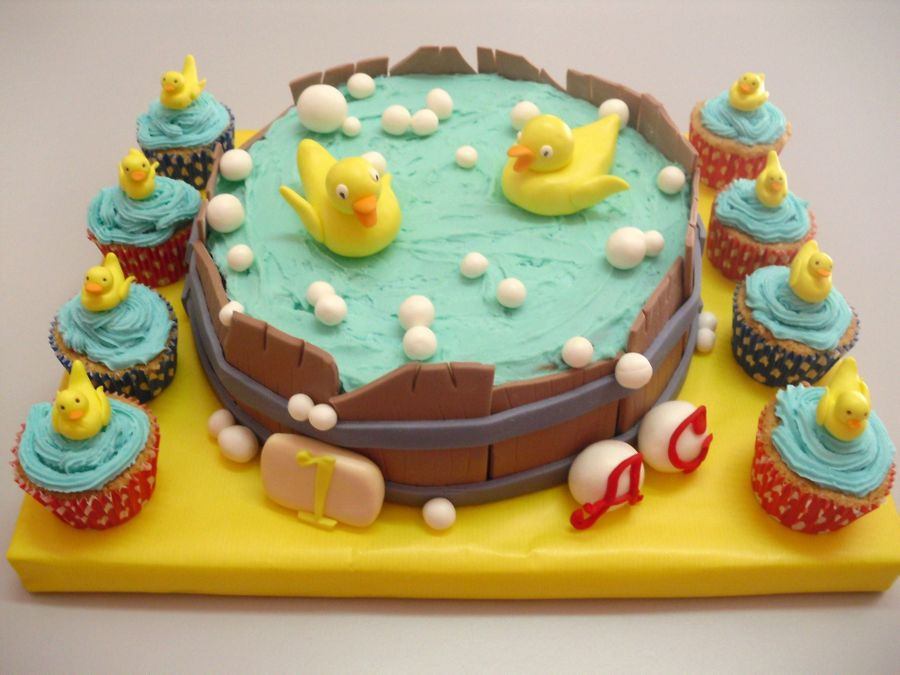 Ducks Cake on Cake Central