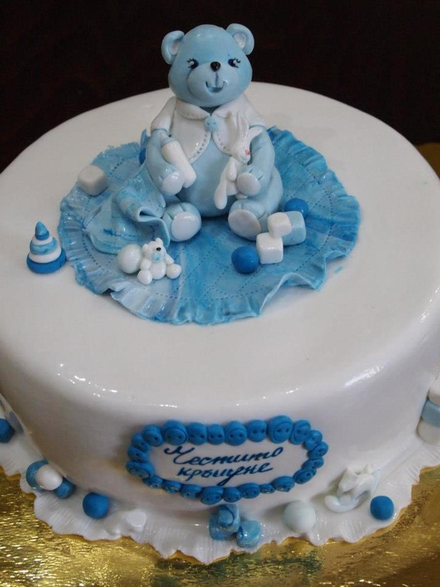 Sweet Baby Bear on Cake Central