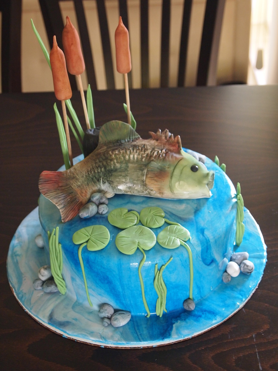 Fishing Cake Decorating Ideas