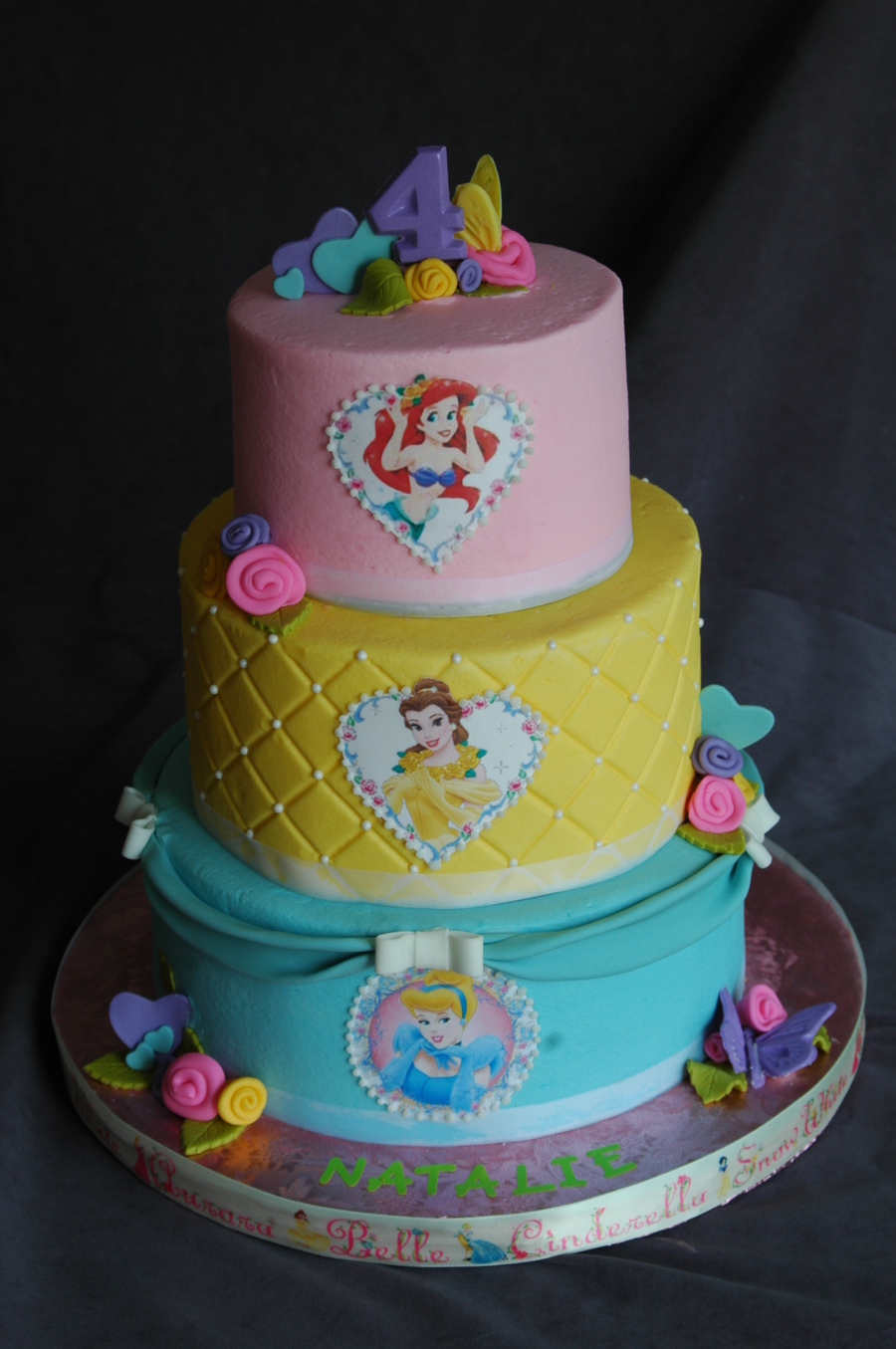 Fabulous Disney Princess Birthday Cakecentral Com Birthday Cards Printable Benkemecafe Filternl