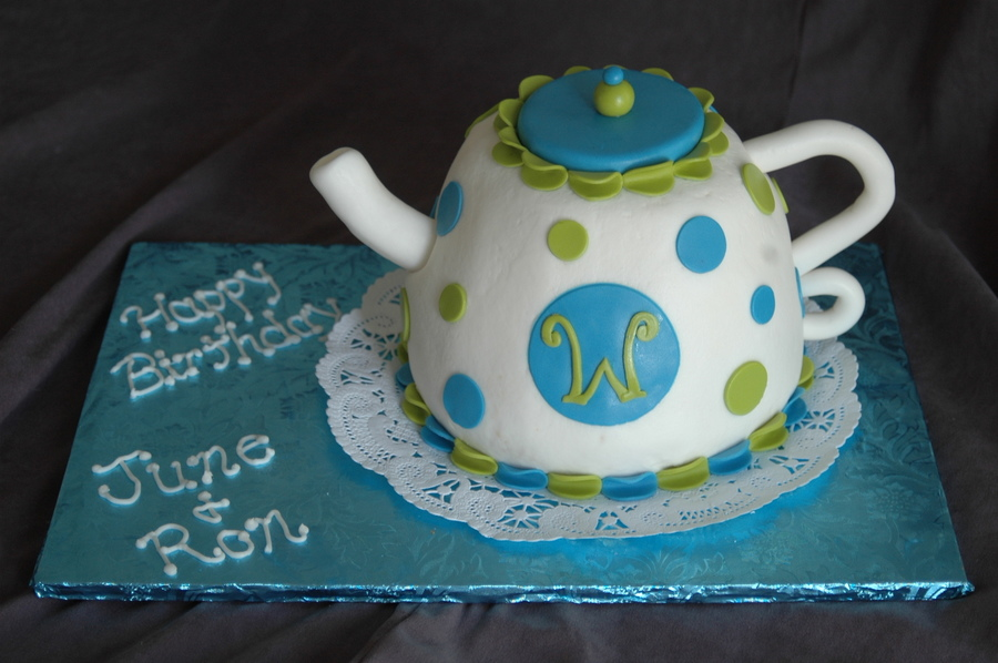 Teapot Birthdays on Cake Central