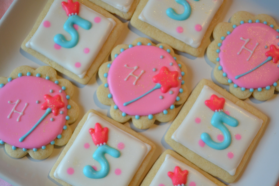 Birthday Cookies For A 5 Year Old Princess On Cake Central