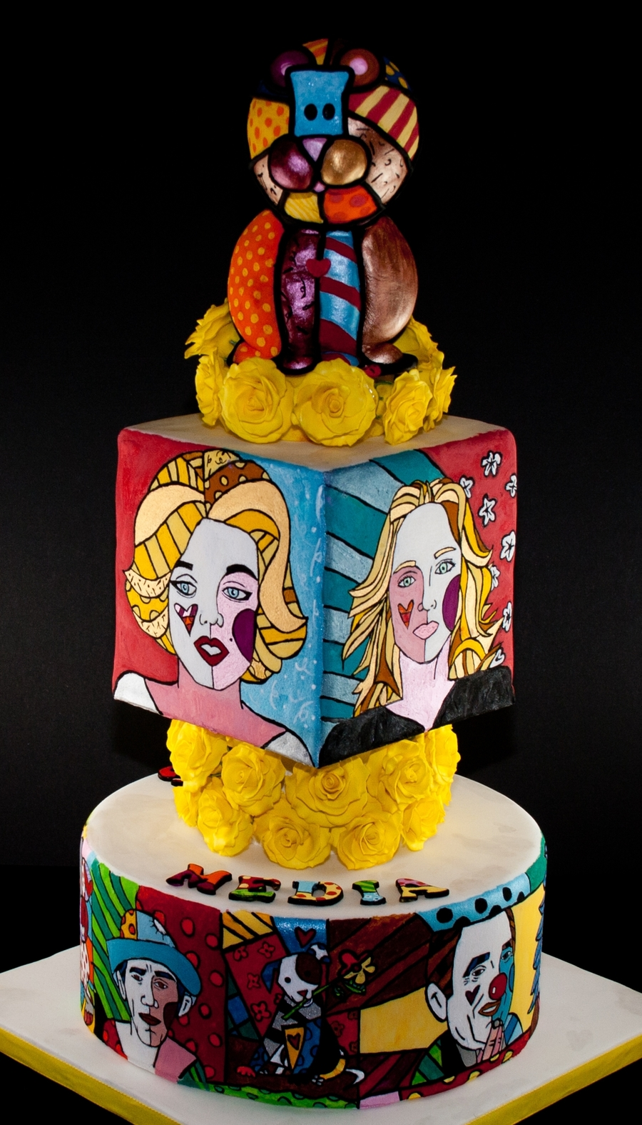Andy Warhol Birthday Cake