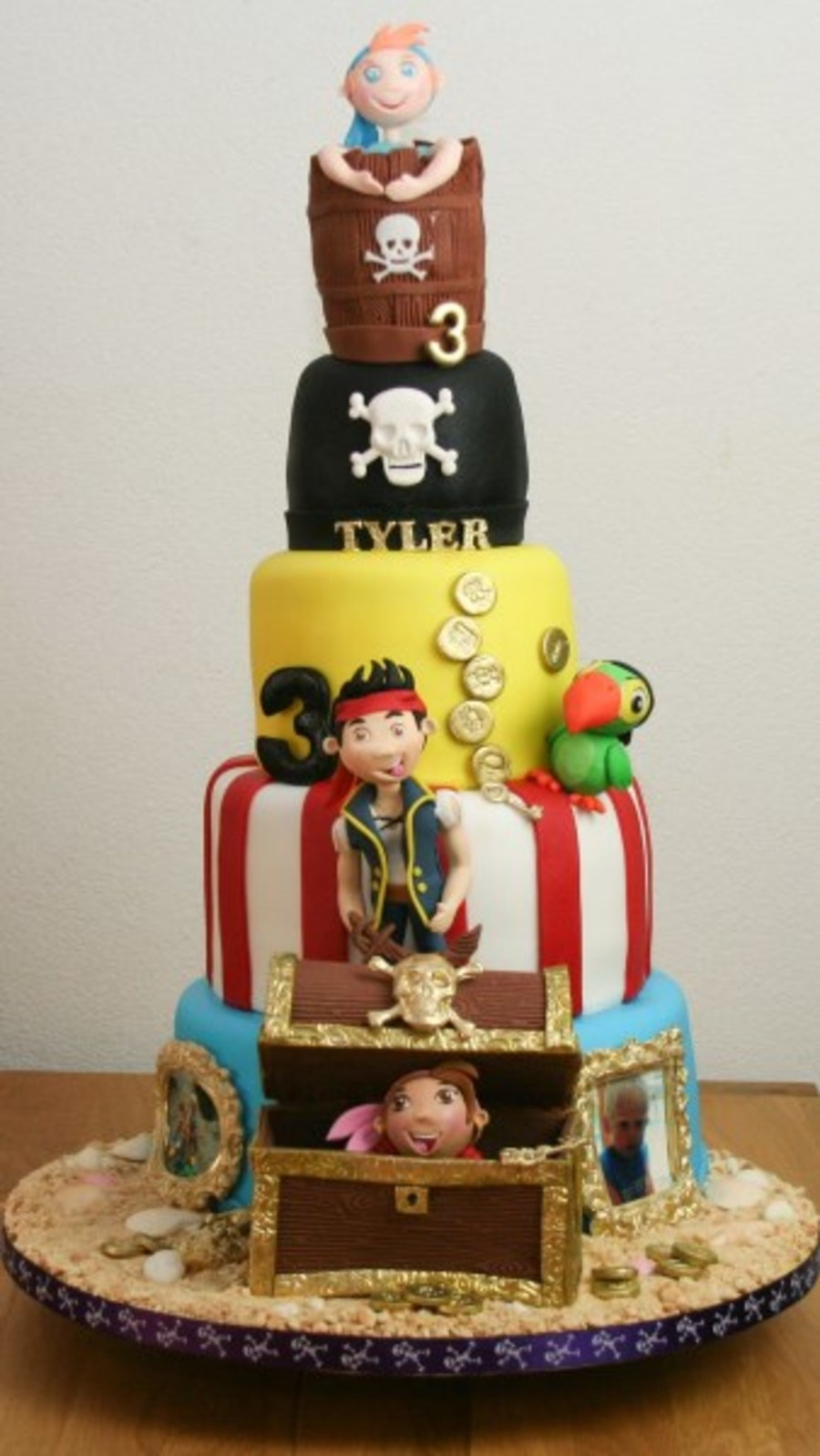 Jake The Pirate Cakecentral Com
