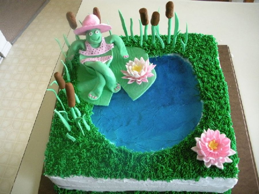Turtle/sweet 16 Birthday For Daughter on Cake Central