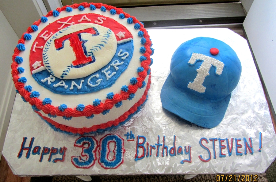 Texas Rangers Cake  on Cake Central