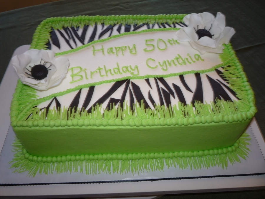 Happy Birthday Cynthia on Cake Central