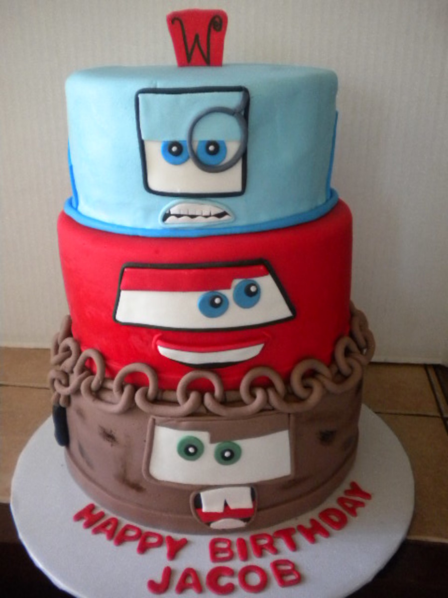Cars Cake Cakecentral