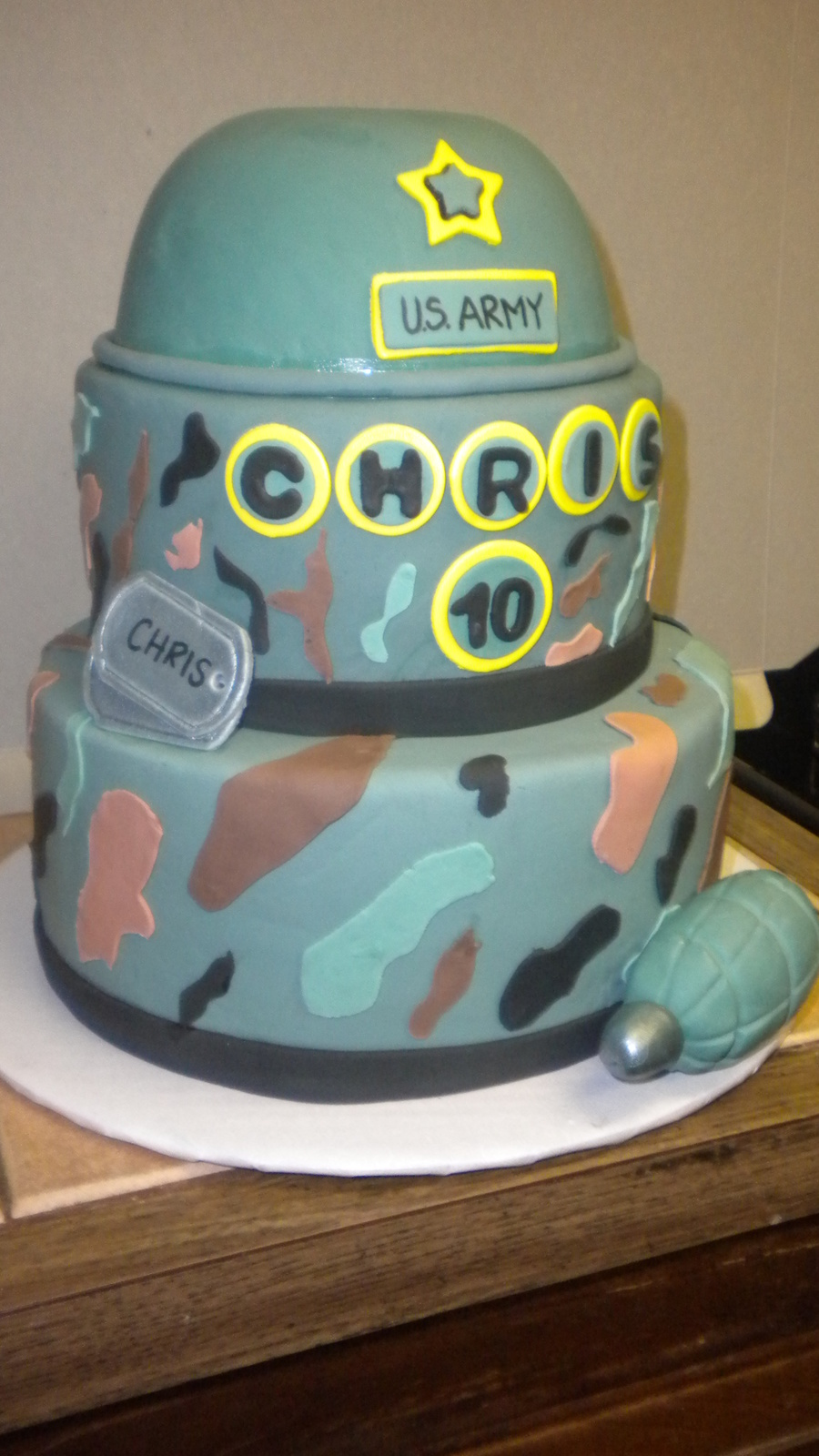 Army Military Cake on Cake Central
