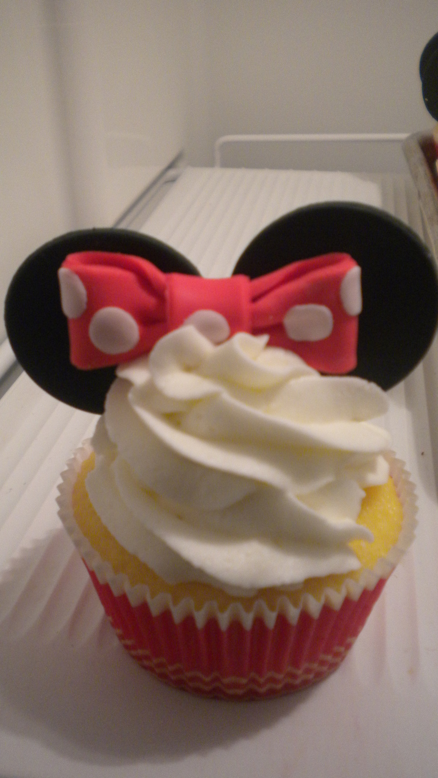 Minnie Mouse Cupcake on Cake Central