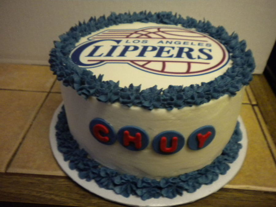 Clippers Cake on Cake Central