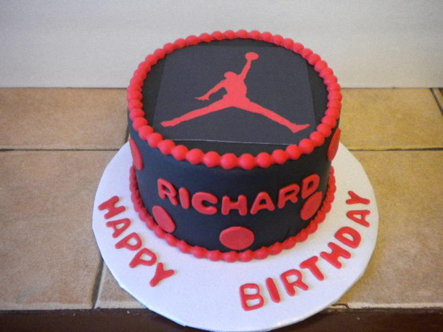 Air Jordan Cake CakeCentralcom