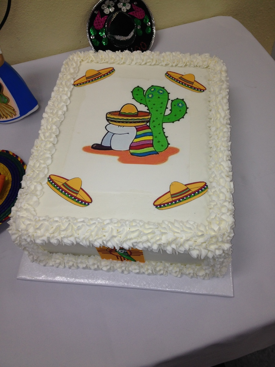 Mexicanfiesta Cake  on Cake Central
