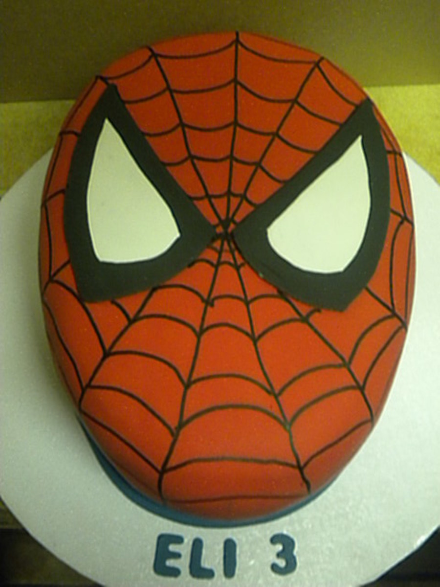 Spider Man on Cake Central
