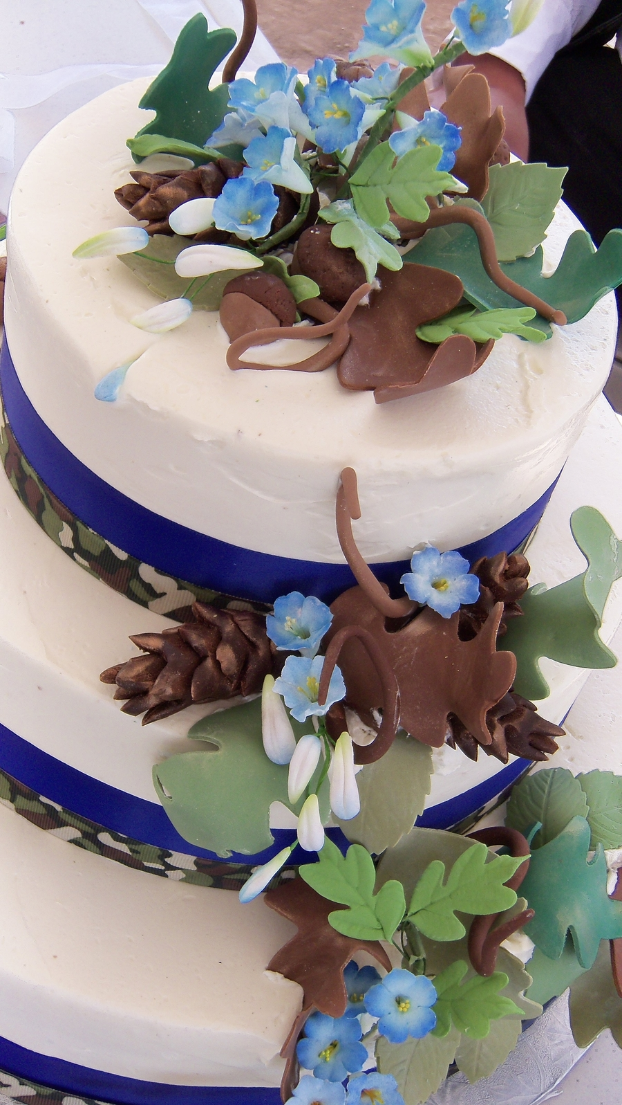 True Blue Camo! on Cake Central