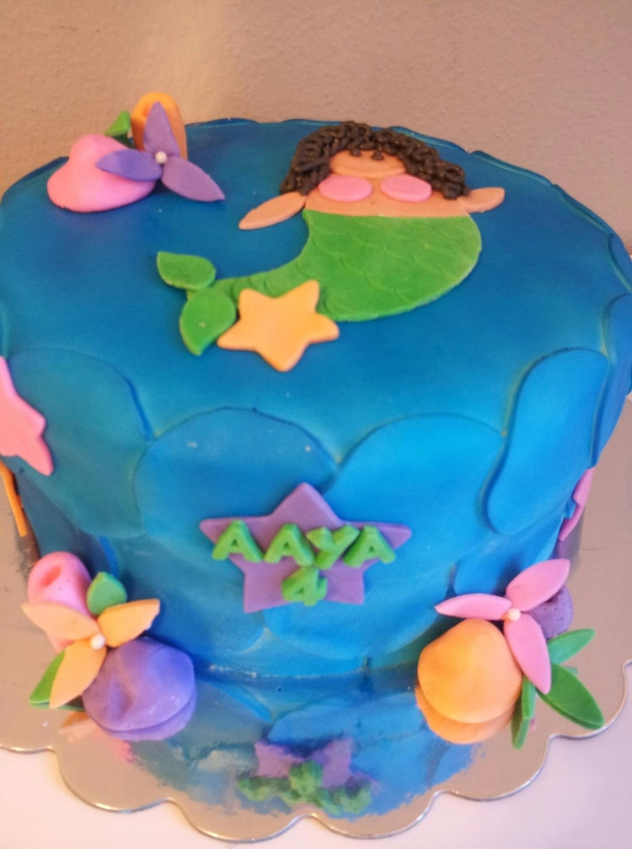 Generic Mermaid on Cake Central