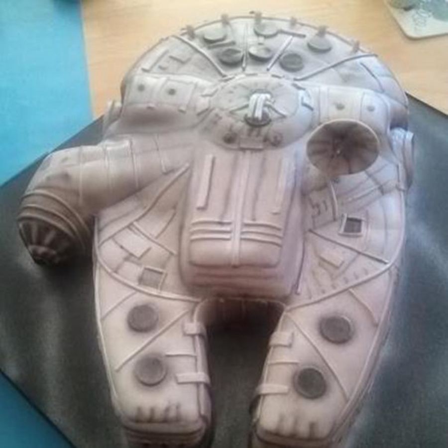 Star War Ship on Cake Central