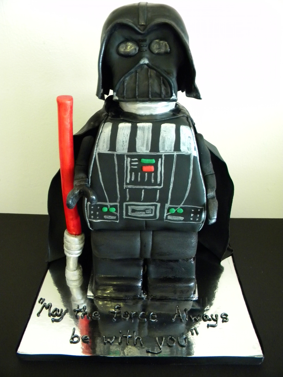 Darth Lego on Cake Central