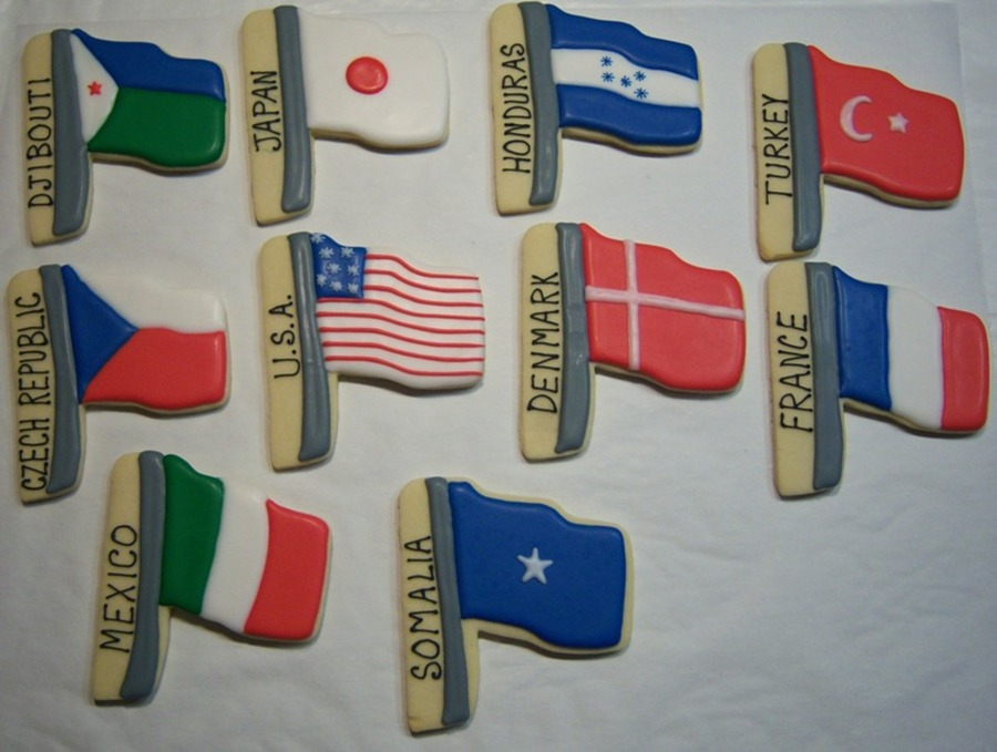 World Flags on Cake Central