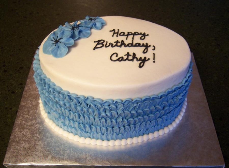 Cathys Birthday CakeCentralcom